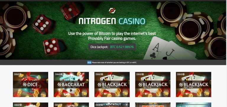Nitrogen Casino Review