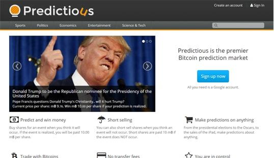 Predictious Bitcoin Markets