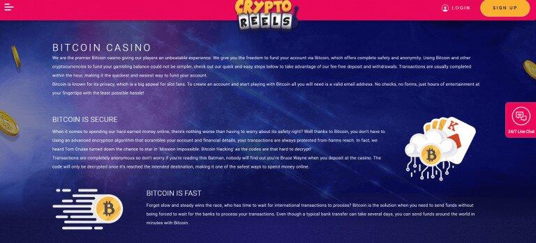 CryptoReels Bitcoin