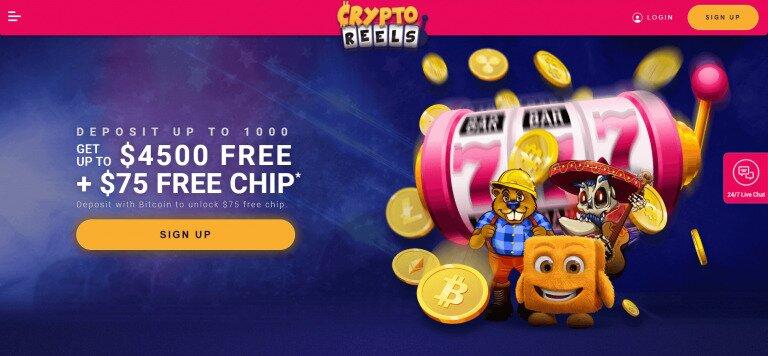 CryptoReels No Deposit Bonus Code