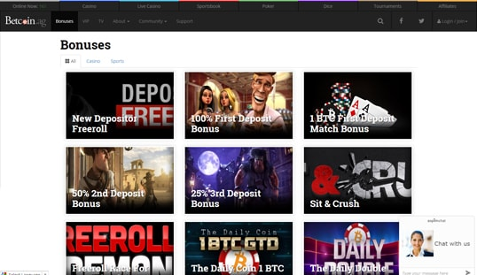 Betcoin.ag Casino Review