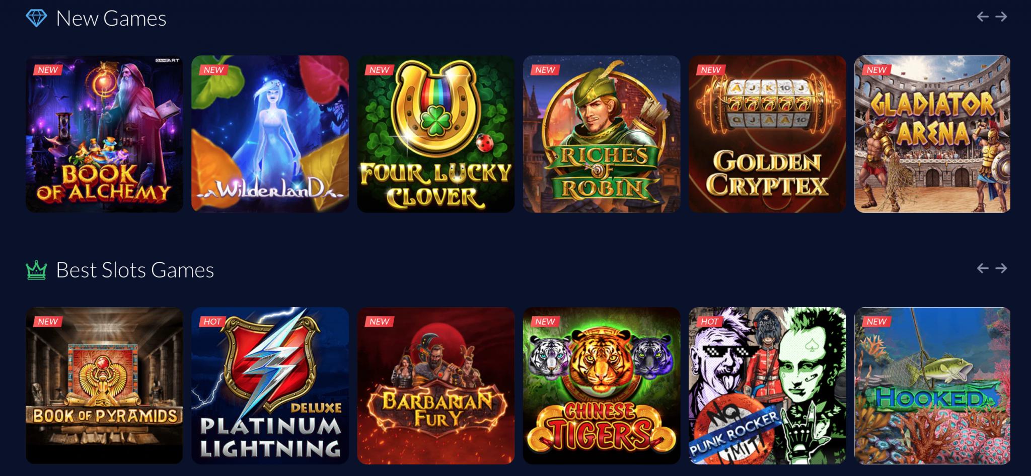 mBit Casino Online Slots Games