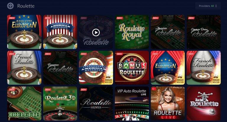 mBit Casino Roulette Games