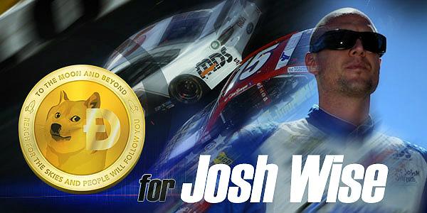Dogecoin Sponsors Josh Wise