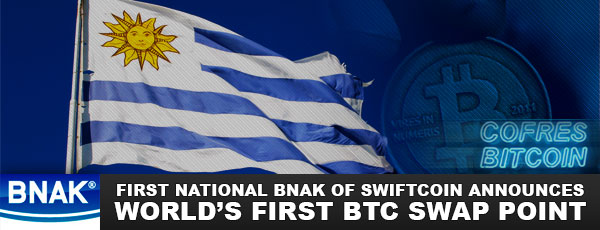 BNAK Swiftcoin Swap Point