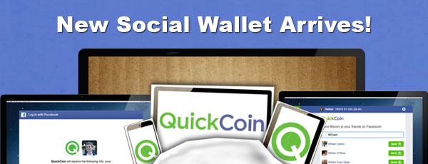 QuickCoin Social BTC Wallet