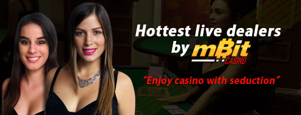 mBit Casino Live Dealers
