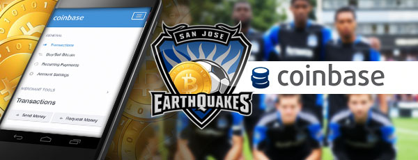 San Jose Earthquakes Coinbase