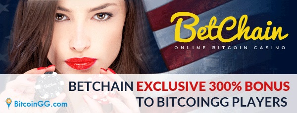 Betchain Bitcoingg Welcome Bonus