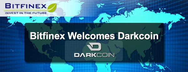 DarkCoin Bitfinex
