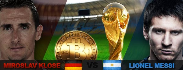 Bitcoin Bookies All Set for the Argentina-Germany World Cup Showdown