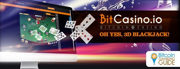 Bitcasino.io Brings 3D Gaming to Bitcoin Blackjack Table
