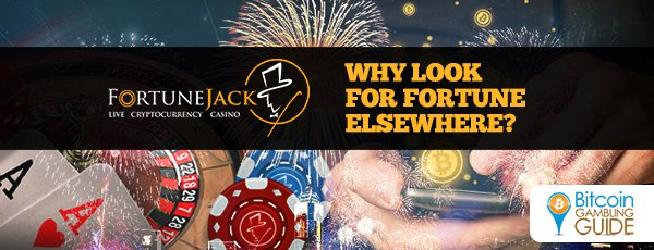 FortuneJack Ahead in Revolutionizing Cryptocurrency Gambling
