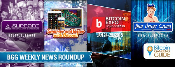 This Week's Hottest: Delta.Support, Smart Bitcoin Gambling, and BitcoinExpo London 2015
