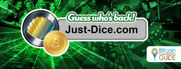 Just-Dice Reopens, Drops Bitcoin for Clams