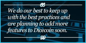 DiceCoin Quote