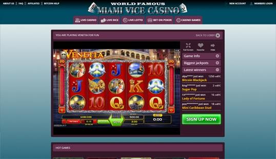 Miami Vice Casino