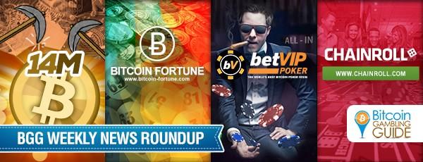 Roundup: Chainroll, BetVIP Poker, and 14M BTC