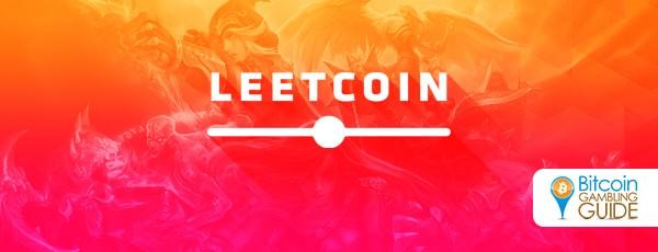 Leetcoin Bitcoin eSports site