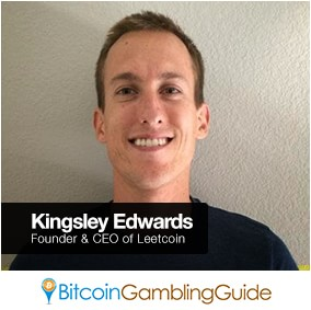 Leetcoin Founder Kingsley Edwards