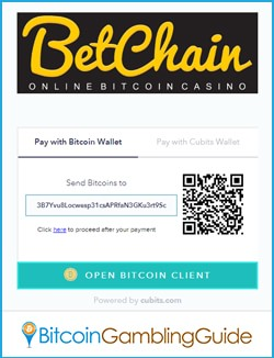 BetChain Casino Cubits