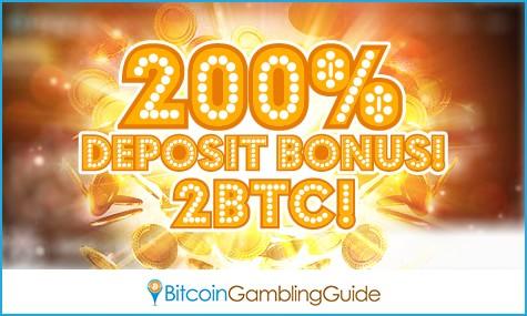 200% Deposit Bonus