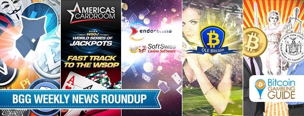 Roundup: OLE Bitcoin, Endorphina Slots, Americas Cardroom & ShapeShift
