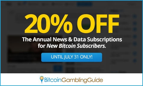 20% Off on Bitcoin Subscribers