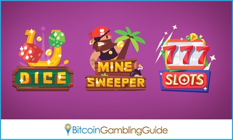 Cryptogames.io Games