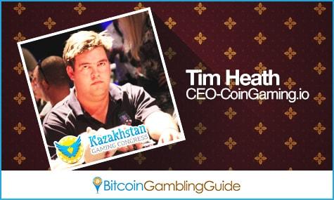 CoinGaming.io CEO Tim Heath
