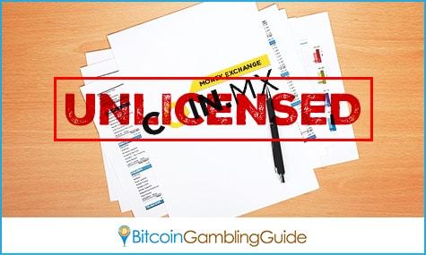 Unlicensed Bitcoin Exchange