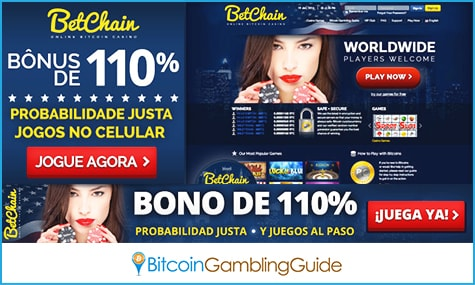 BetChain Affiliate Banners