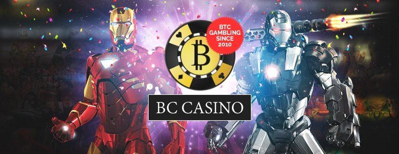 Bitcoin Games on BC Casino