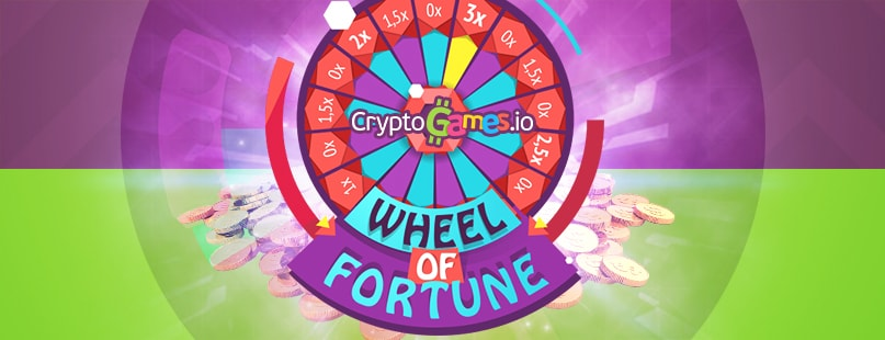 CryptoGames.io Adds New Wheel Of Fortune Game