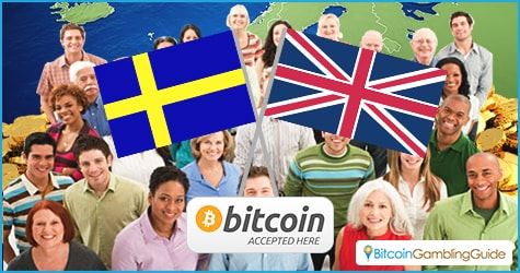 Bitcoin in UK and Sweden