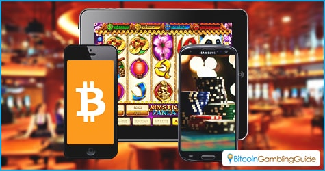 Mobile Bitcoin Gambling