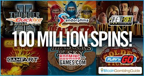 BitCasino.io 100 Millionth Spin