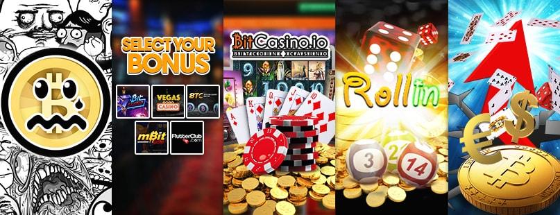 Roundup: Welcome Bonus, Rollin.io & BitCasino.io