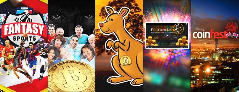 Roundup: FortuneJack, CoinFestUK & Fantasy Sports