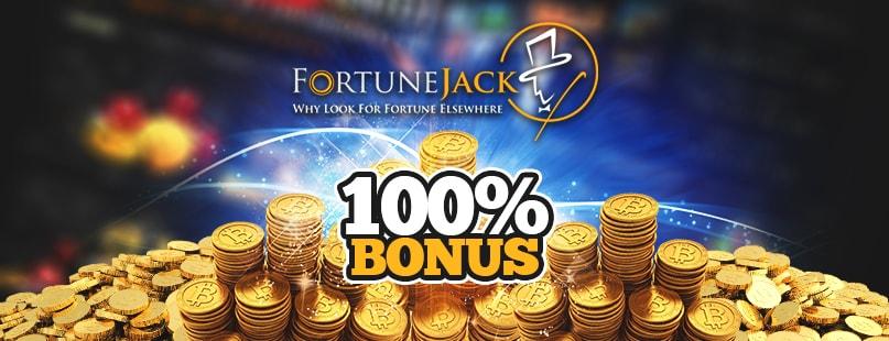 FortuneJack Rewards Friendly First Deposit Bonus