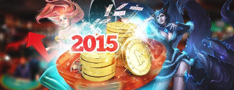 Bitcoin Gambling Marks Market Maturity In 2015