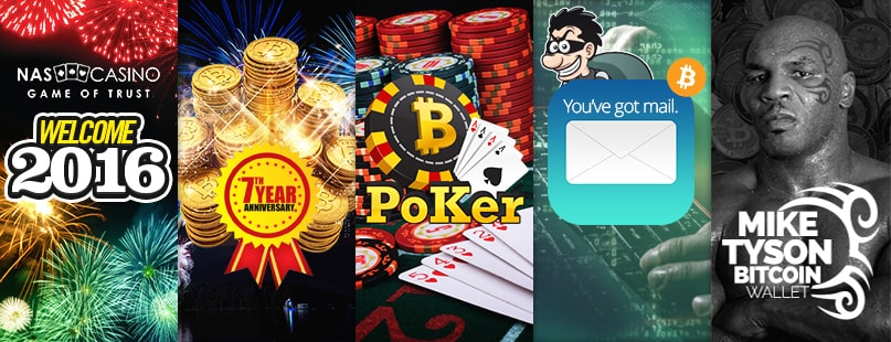 Roundup: NASCasino, BetCoin.tm & Phishing Emails