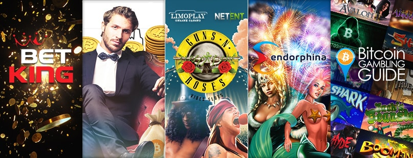 Roundup: BetKing.io, Guns N Roses Slot & BitcoinGG