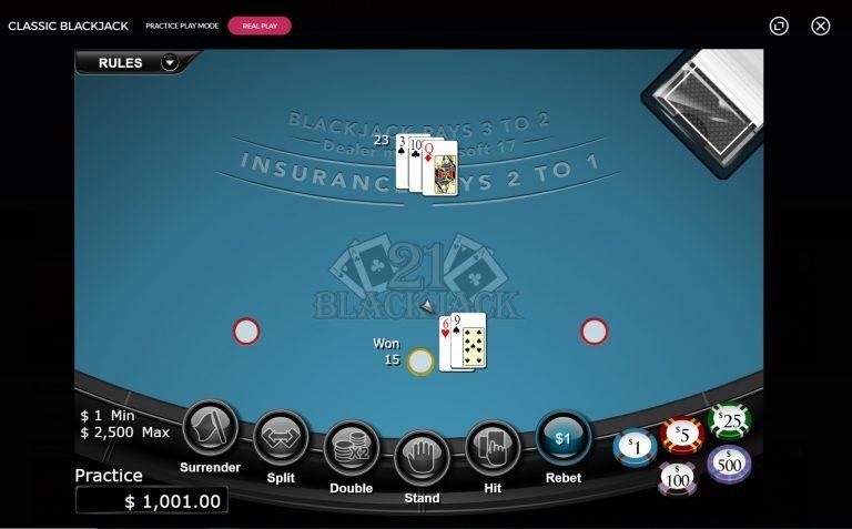 Slots.LV Blackjack Games