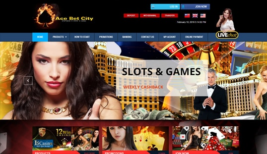 Ace Bet City Slots