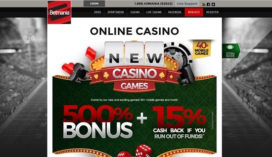 Betmania Online Casino
