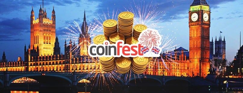 CoinFestUK 2016 Presents Sponsorship Opportunity