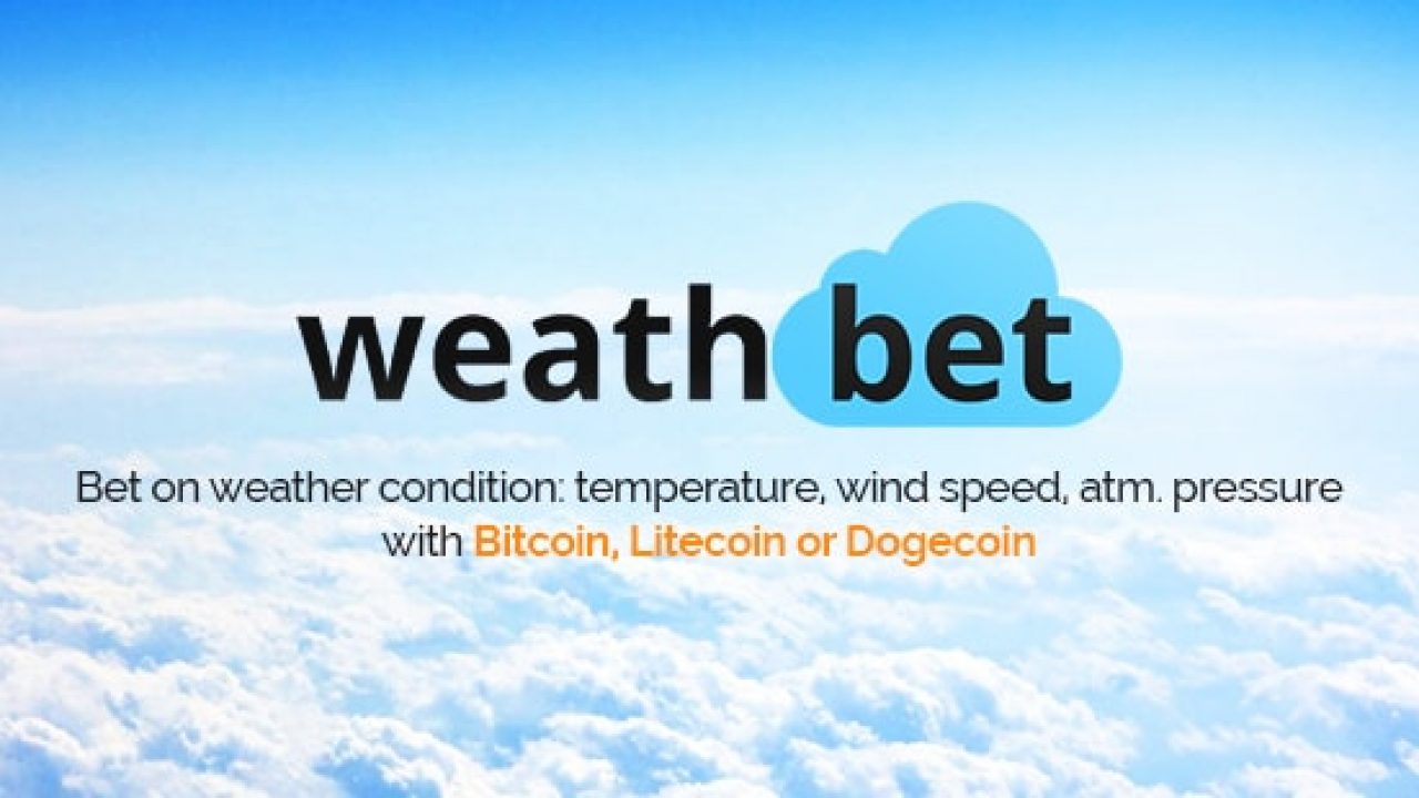 bet on weather predictions