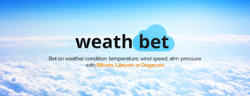 Weathbet Makes Weather Betting Easy With Bitcoin