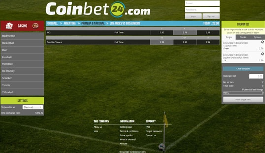 Coinbet24 Sports Betting